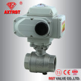Electric Actuated Thread 1000wog Steel 2PC Ball Valve