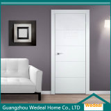 White Primed Interior White Primed Timber MDF Solid Wooden Door
