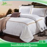 Factory Supply Cotton White Bedding Sheets for Master Bedroom