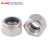 Carbon Steel Nylon Metal Hex Lock Nut