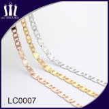 New Designs Stainless Steel Gold Plated Chain for Ladies