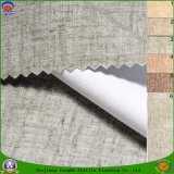 Home Textile Woven Polyester Fabric Blended Polyester Linen Waterproof Fr Blackout Curtain Fabric