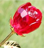 Crystal Glass Rose (JDH-041)
