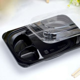 PP Black Disposable Japanese Plastic Lunch Box