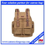 Mens Leisure Canvas Backpack for Traveling and Campus