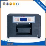 UV LED Printer Small UV Printer A4 Size UV Printing Machine for Leather