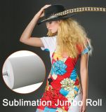 Reggiani Next High Speed with Jetcol Quality 57GSM Jumbo Roll Sublimation Heat Transfer Paper for Textile Printing