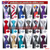 Mens Ties Silk Red Black Tie Sets Neckties Tie Hanky Cufflinks Tie Sets (B8052)