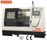 Automatic Horizontal Slant Bed CNC Lathe Machine with Double Head/Live Tool Milling (EL52TMSY)