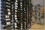 Custom Home Cellar Design Metal Wall Mounted Wine Rack
