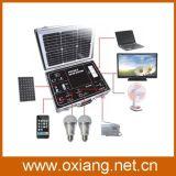 34W/17.5V Solar Panel Mini AC 110V /220V Portable Suitcase Style Solar Power Generator System 500watt Sp500A for Home/Outdoor Use