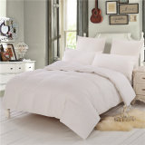 100% Cotton White Duvet Machine Washable Skin Comfort Bed Linen Comforter