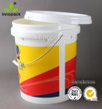19L Plastic Pail for Industrial Packaging and Food Packaging