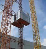 CE Approved Construction Hoist / Building Hoist (SC200/200TD)