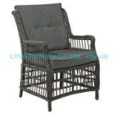 Patio Armchair Round Rattan Single Sofa Garden Furniture