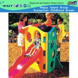 Kids Outdoor Plastic Toys with Plastic Slide Equipment (M11-09303)