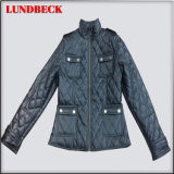 Black Outerwear Jacket for Women in Good Quality