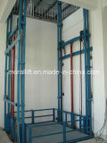 Guide Rail Hydraulic Lift Platform for Warehouse