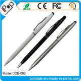 Stainless Steel Ballpoint Pens 2 in 1 Stylus Pen for Touch Screen