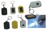 Rechargeable LED Metal Solar Keychain