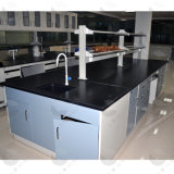 Pedestal Style with Faucet and Sink Lab Bench