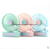 Mini Fan Folding Fan Mini Fan USB Rechargeable Small Fan with Hand-Held Fan Gift