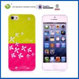 Flowers Pattern Hard IMD Case for iPhone5S