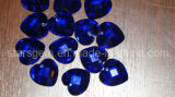 Double Faceted Glass Bead Gemstone