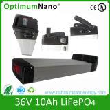 36V 10ah LiFePO4 /Lithium Battery Pack for Eletric Bike