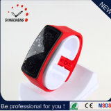 2015 Red Charm Fashion Silicone Strap LED Watch (DC-897)