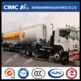 Cimc Huajun Aluminium Alloy Oil Tanker with Shell Painting