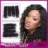 New Arrivals Virgin Deep Wave Weft Brazilian Curly Hair Extensions