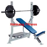 hammer strength, gym equipment, fitness, body building equipment, Olympic Incline Bench (HS-4010)