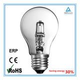 A55 Clear 18/28/42/52/70W E27 2000 Hours Eco Halogen Lamp China Manufacturer