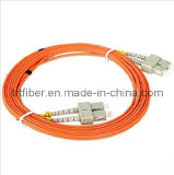 SC-SC MM Duplex Fiber Optic Patch Cord