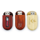 Wooden USB Flash Drive for Multicolor