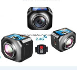 High Resolution Black Vr Camera 360 Manufacturer China