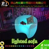 RGB Color Changing Lighted Garden Furniture LED Sofa