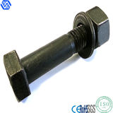 Heavy High Strength Black Carbon Steel Hex Head Bolt