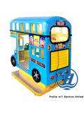 Blue Color London Bus Kiddie Ride Game Machine