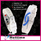 Elegant Power Silicone Bracelet (CP-JS-NW-010)