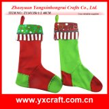 Christmas Decoration (ZY14Y356-1-2) Christmas Sock Decorations Home Products