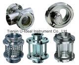 Sanitary Stainless Steel Sight Glass for Oil, Liquid, Steam