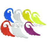 Transparent Acrylic Angel Wing Ear Tapers (6247)