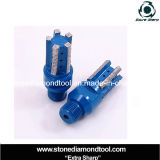 CNC Machine Diamond Segmented Drill Finger Core Bits