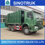 Sinotruk HOWO 336HP 20cbm 6X4 Compressed Dispose Truck