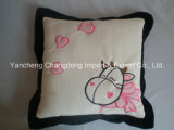 Plush Cow Cushion with Soft Material and Beautiful Embroidery