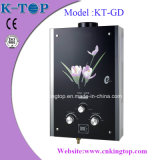 Instant Tankless Gas Water Heater with Black Glass
