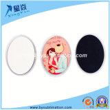 Ellipse Shape Sublimation Fridge Magnets Sticker (big size)