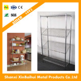 Best Price Adjustable DIY Metal Rack Chrome Wire Shelving for Supermarket